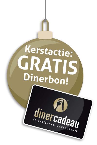 Kerstactie: gratis dinerbon!